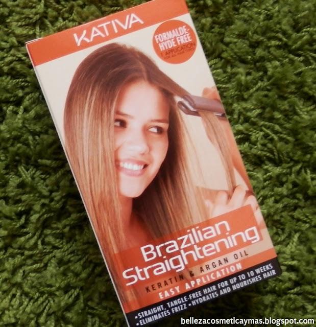 Kit alisado brasileño de Kativa