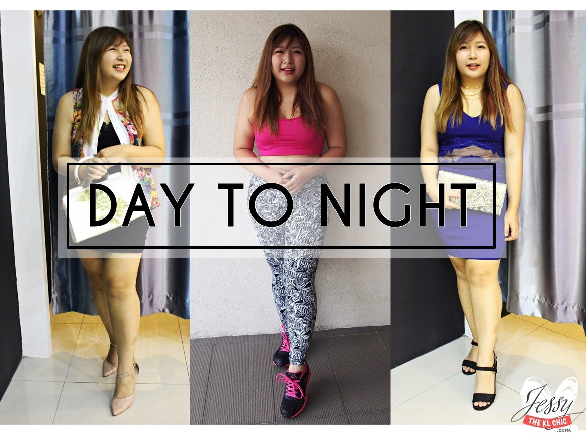Day To Night Plus Size Looks ft 1MK Mall