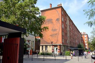 Sunday Street Art : Jorge Rodriguez-Gerada - rue Nationale - Une fresque du parcours Street Art 13 - Paris 13