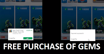 How to make FREE purchases in android Apps or Games