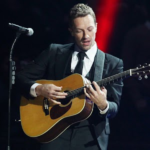 Chris Martin: moved to tears by the story of a fan