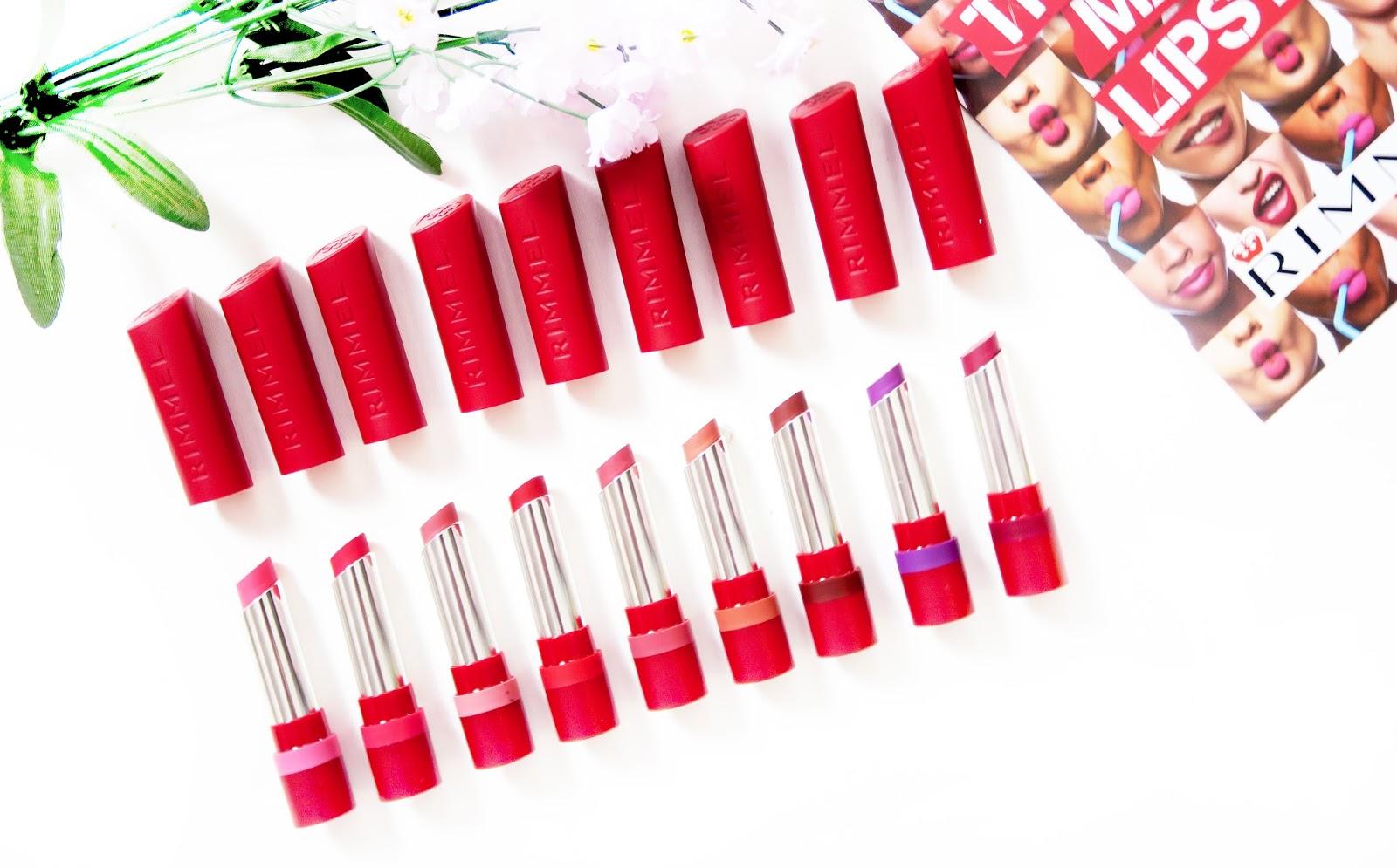 Image of Rimmel Only 1 Matte Lipstick