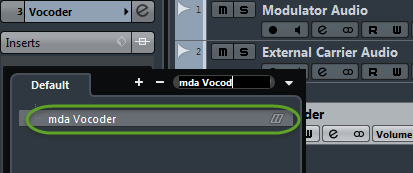 Ultimate Outsider: Setting Up Vocoders in Cubase Part 7: mda Vocoder