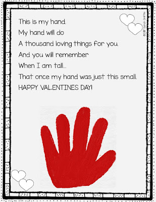 Thumb Print Valentine Cards Craft Teacher By Teacher Free Template