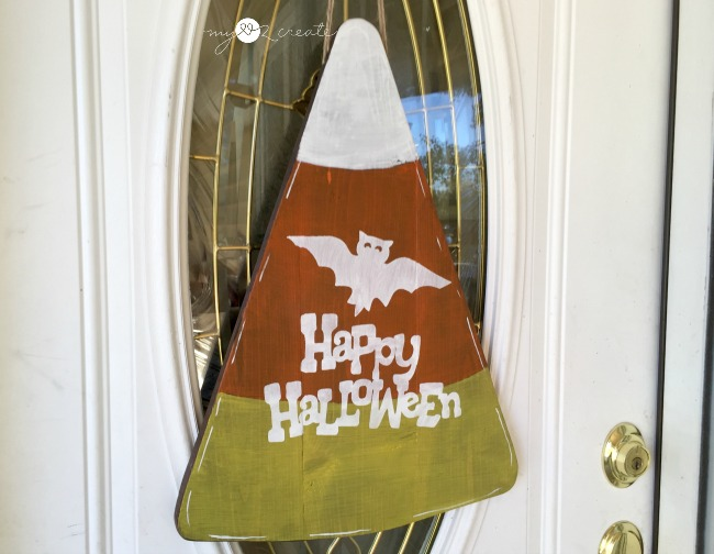 Halloween Door Hanger, MyLove2Create