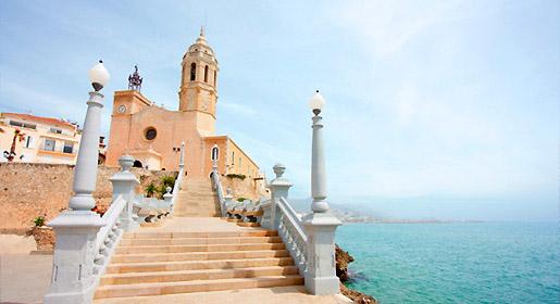 Bate e volta de Barcelona a Sitges