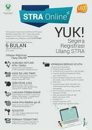 persyaratan dan cara perpanjangan STRA Online