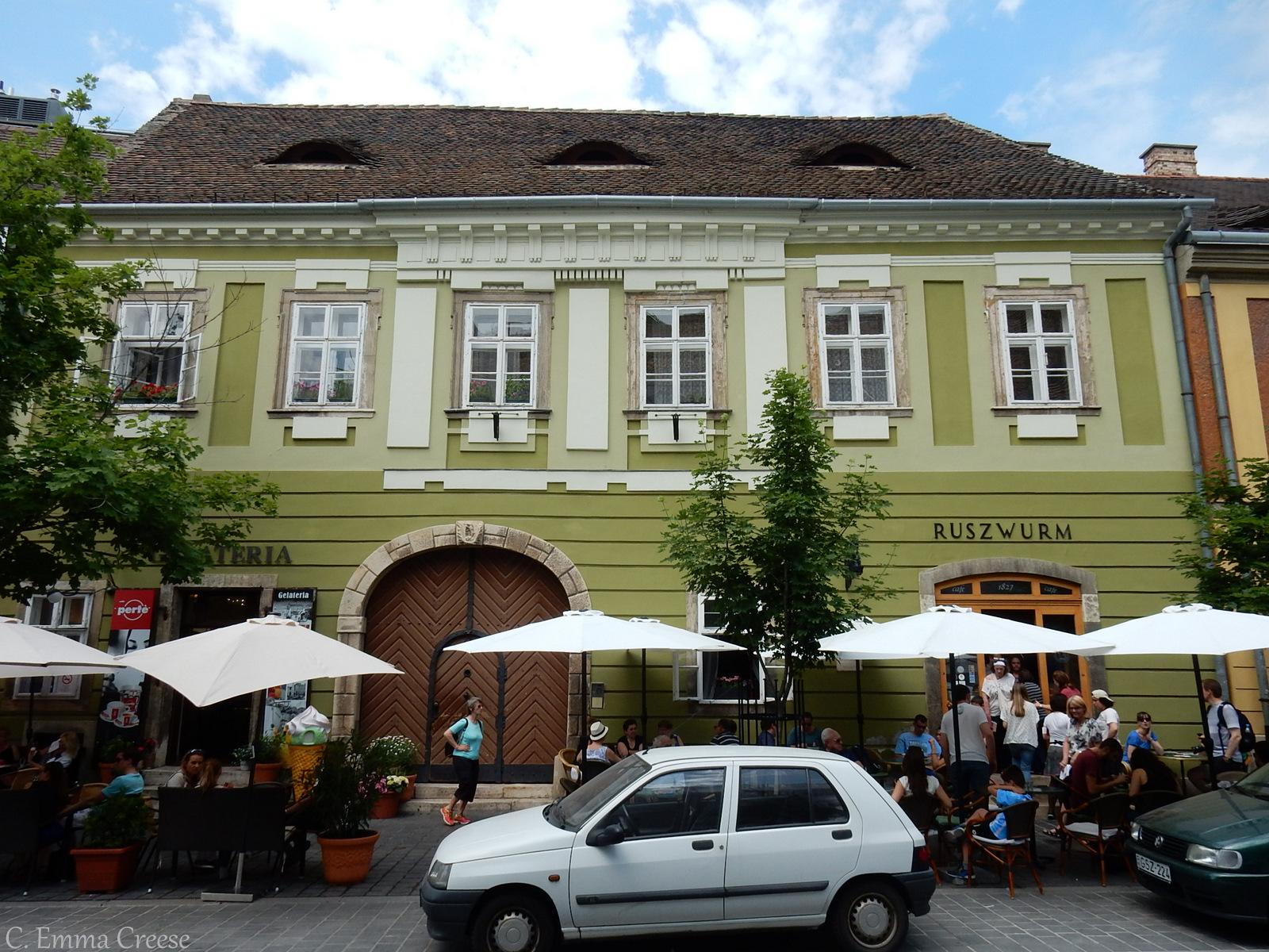 10 reasons luxury city break Ice Cream Budapest Hungary Adventures of a London Kiwi