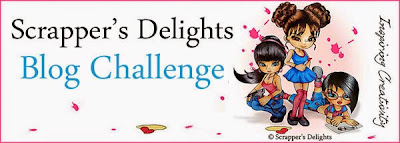 Image result for scrappers delights challenge blog banner