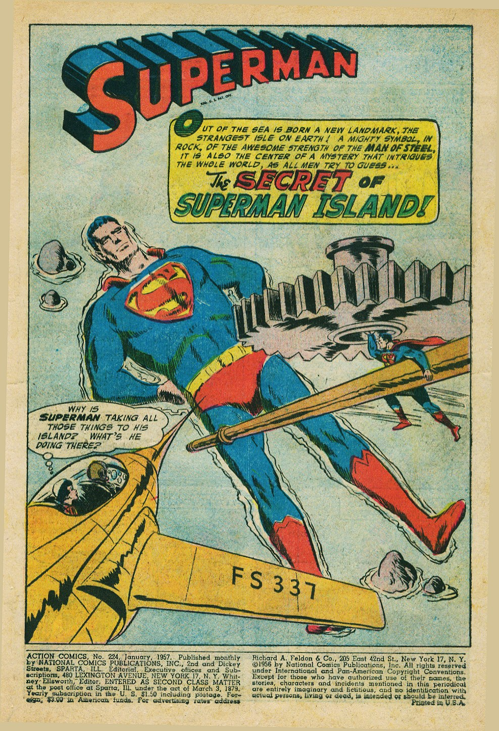 Read online Action Comics (1938) comic -  Issue #224 - 3