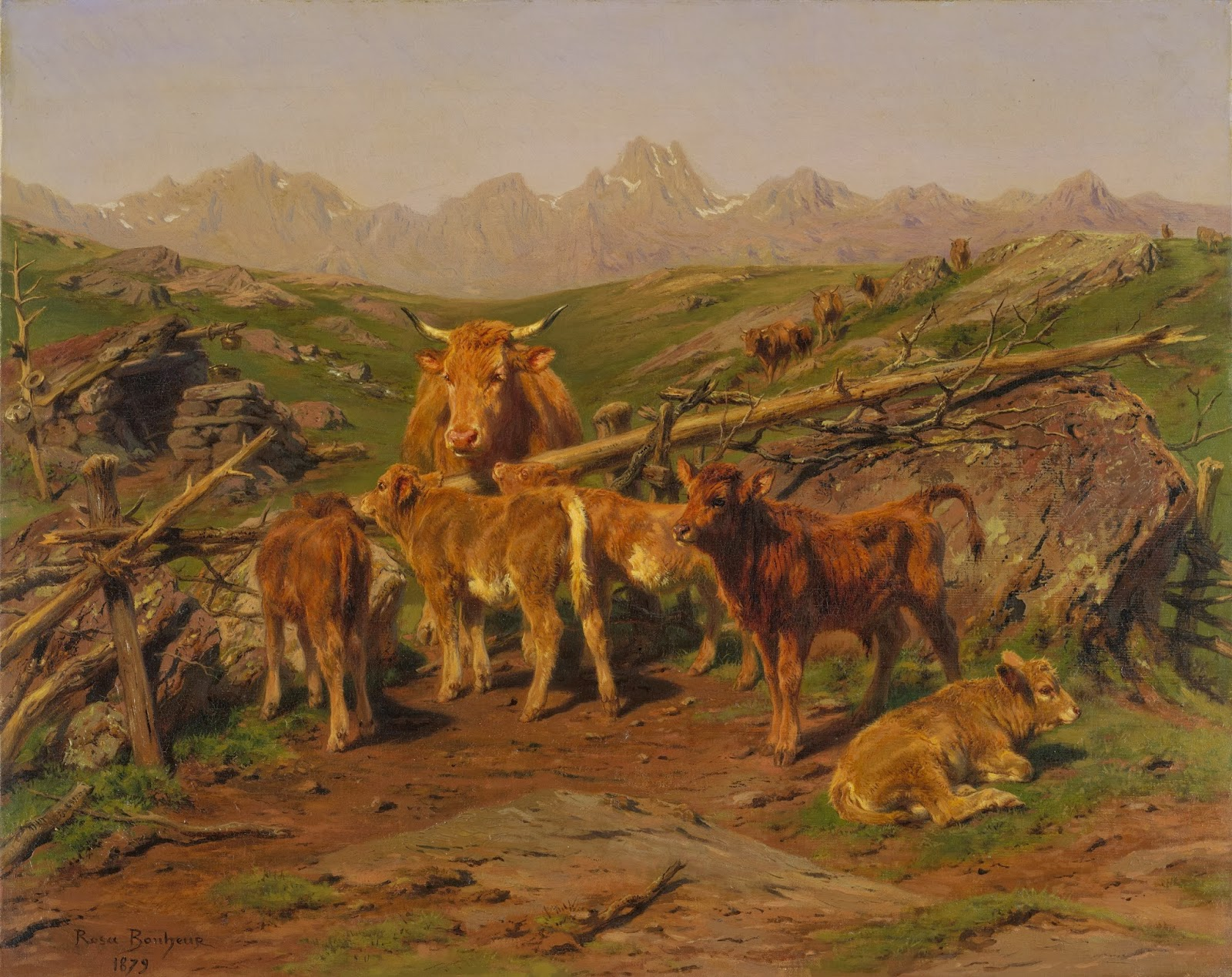 Rosa Bonheur ~ Pintora de animais