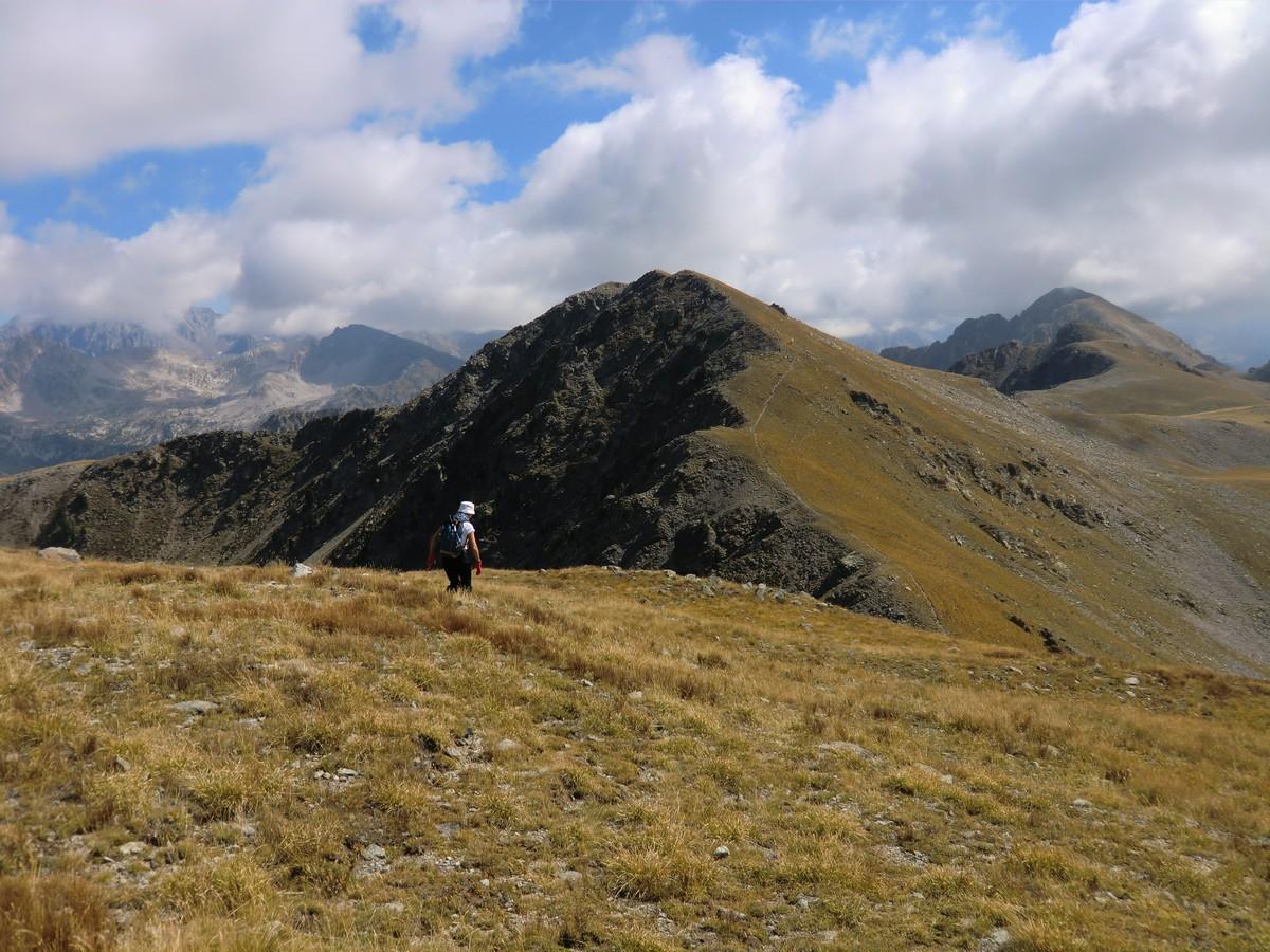 The ridge of Tête des Marges