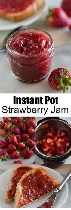 Instant Pot Strawberry Jam