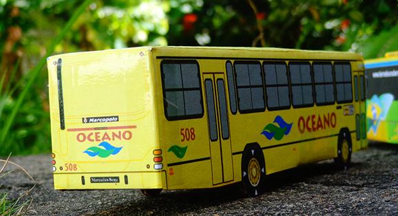 Clássico ônibus da Oceano vai para Extremoz