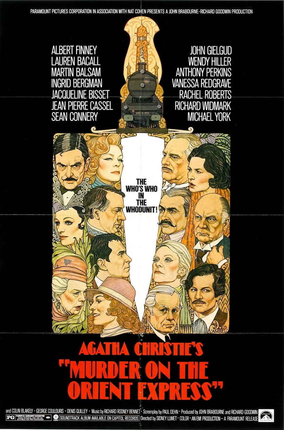 Murder on the Orient Express (1974) ταινιες online seires oipeirates greek subs