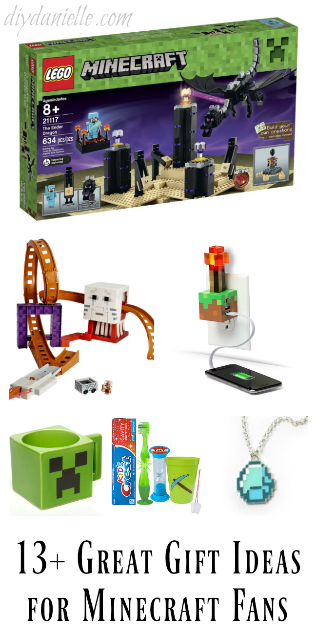 13+ Great Gift Ideas for Minecraft Fans!
