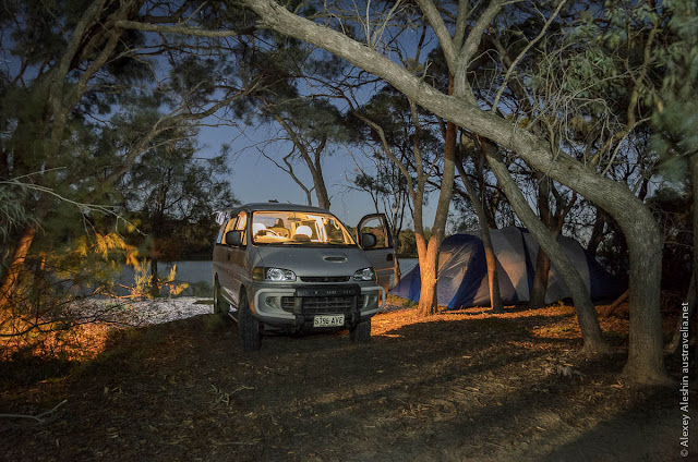 Booky Cliffs Campground, Murray River National Park