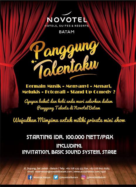 Panggung Talenta / Talent Show Novotel Batam