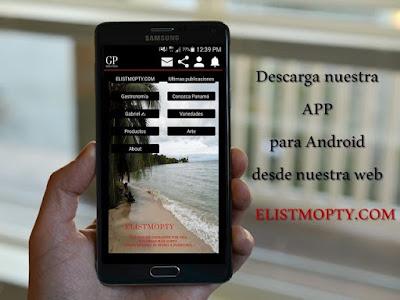 Descarga nuestra APP  elistmopty para Android