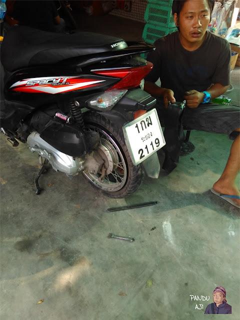 Ganti Ban di Pattaya