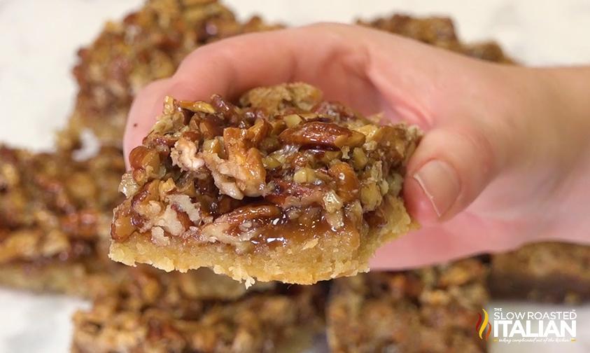 Best Ever Pecan Pie Bars Video