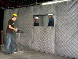 industrial soundproofing curtains