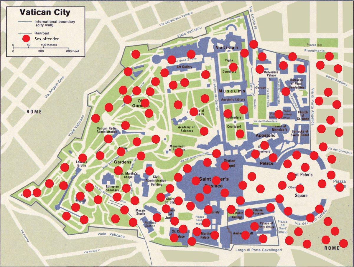Vatican City Map ~ irReligious oRg