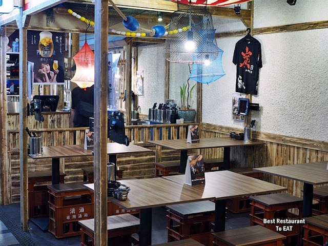 Tansen Izakaya 炭鲜居酒屋 Damansara Jaya Night Dining Area