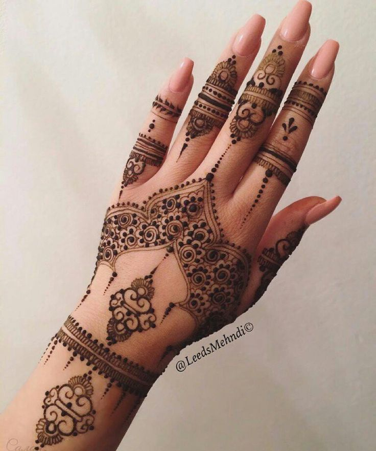 Mehndi Henna Care : Latest henna mehndi designs for hands health care