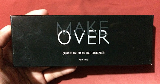 Review Product Make Over Camouflage Cream Face Concealer