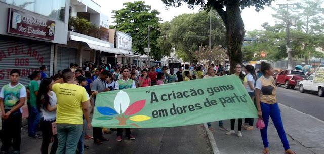 Em Abaetetuba (PA), jovens, adolescentes e crianças se unem em defesa da Casa Comum