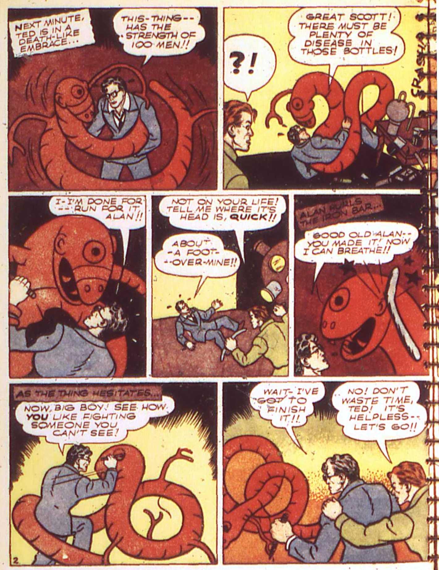 Read online All-American Comics (1939) comic -  Issue #17 - 12