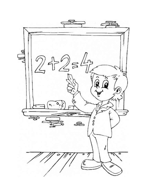 Gambar Mewarnai Anak - 2
