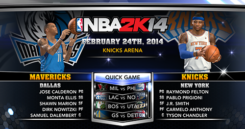 Download NBA 2K14 Roster Update 02-24-2014