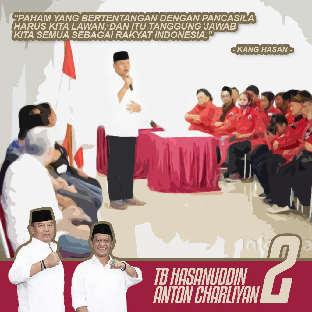 Kang Hasan: Masyarakat Harus Perkokoh Pancasila Di Tengah Ancaman Paham Radikal