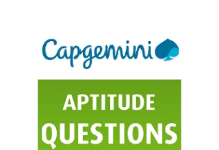 Capgemini Aptitude Questions & Answers