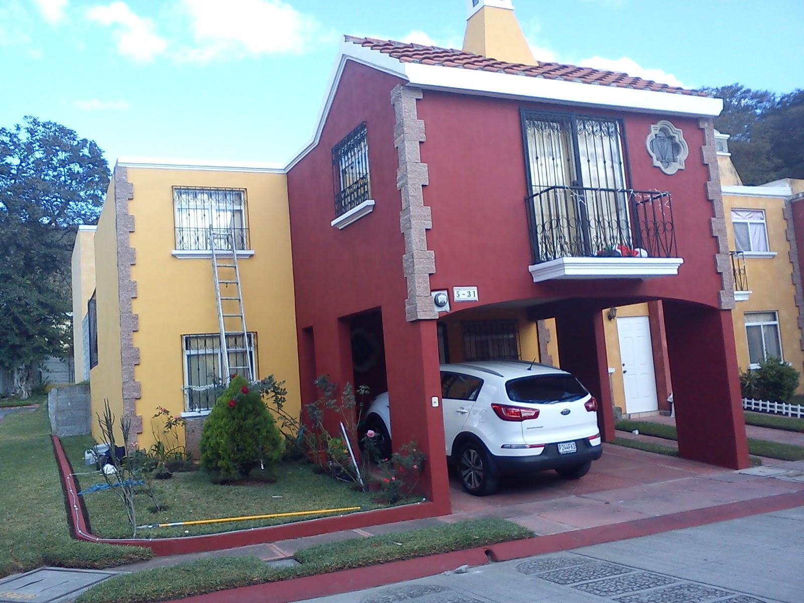 Guatemala pr spera comun cate ca adas pintura exterior - Pintura exterior colores ...