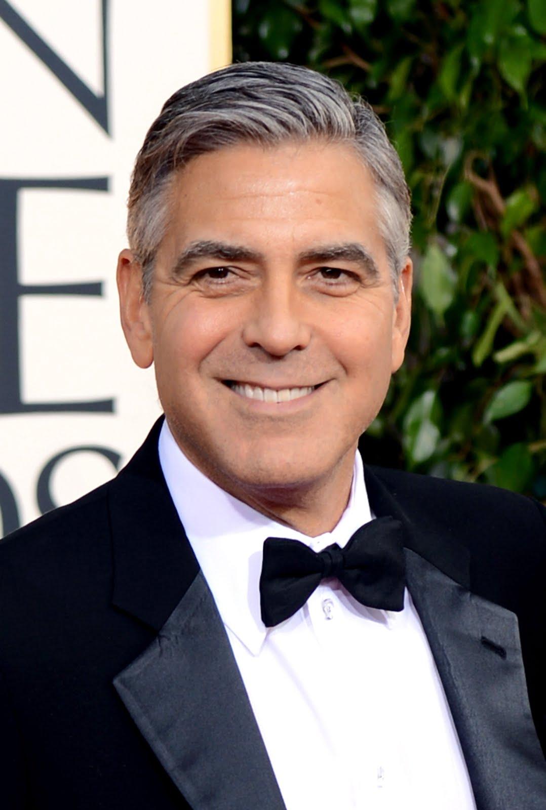 George Clooney profile...