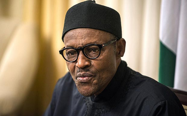 Our oil is being stolen and taken away! - Buhari asks Germany for support