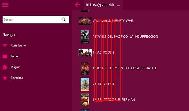 Lista IPTV Peliculas Enero 2019 HD
