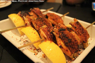 Chicken Wings Yakitori with Sea Salt and Shichimi at Yardbird Hong Kong