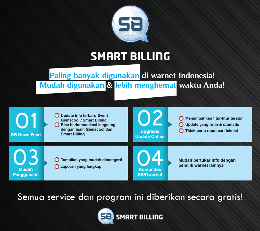 Update Terbaru Smart Billing 13 Juli 2015