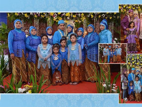 Persiapan Pernikahan ala Keluarga Biru