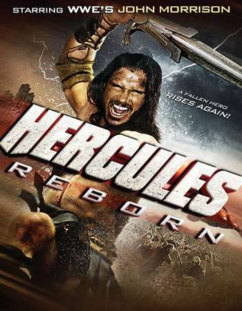 Poster Of Hercules Reborn 2014 Dual Audio 720p BRRip [Hindi - English] Free Download Watch Online Worldfree4u