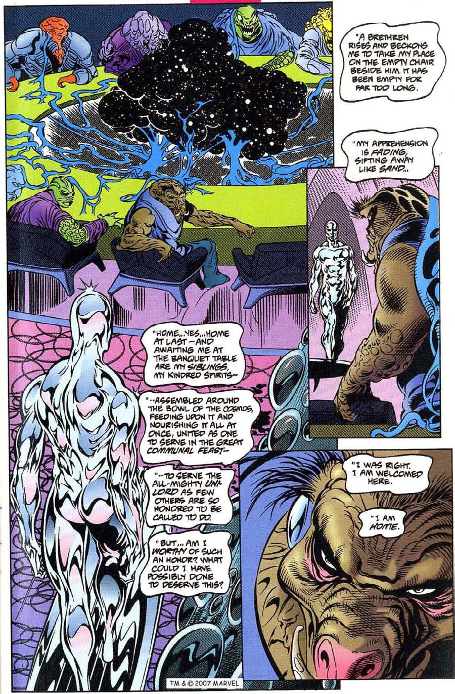 Read online Silver Surfer (1987) comic -  Issue #115 - 5