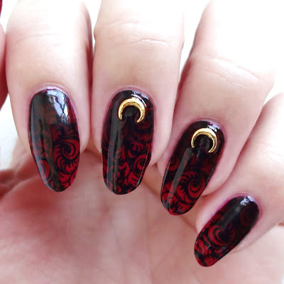 Bewitched Baroque Nails