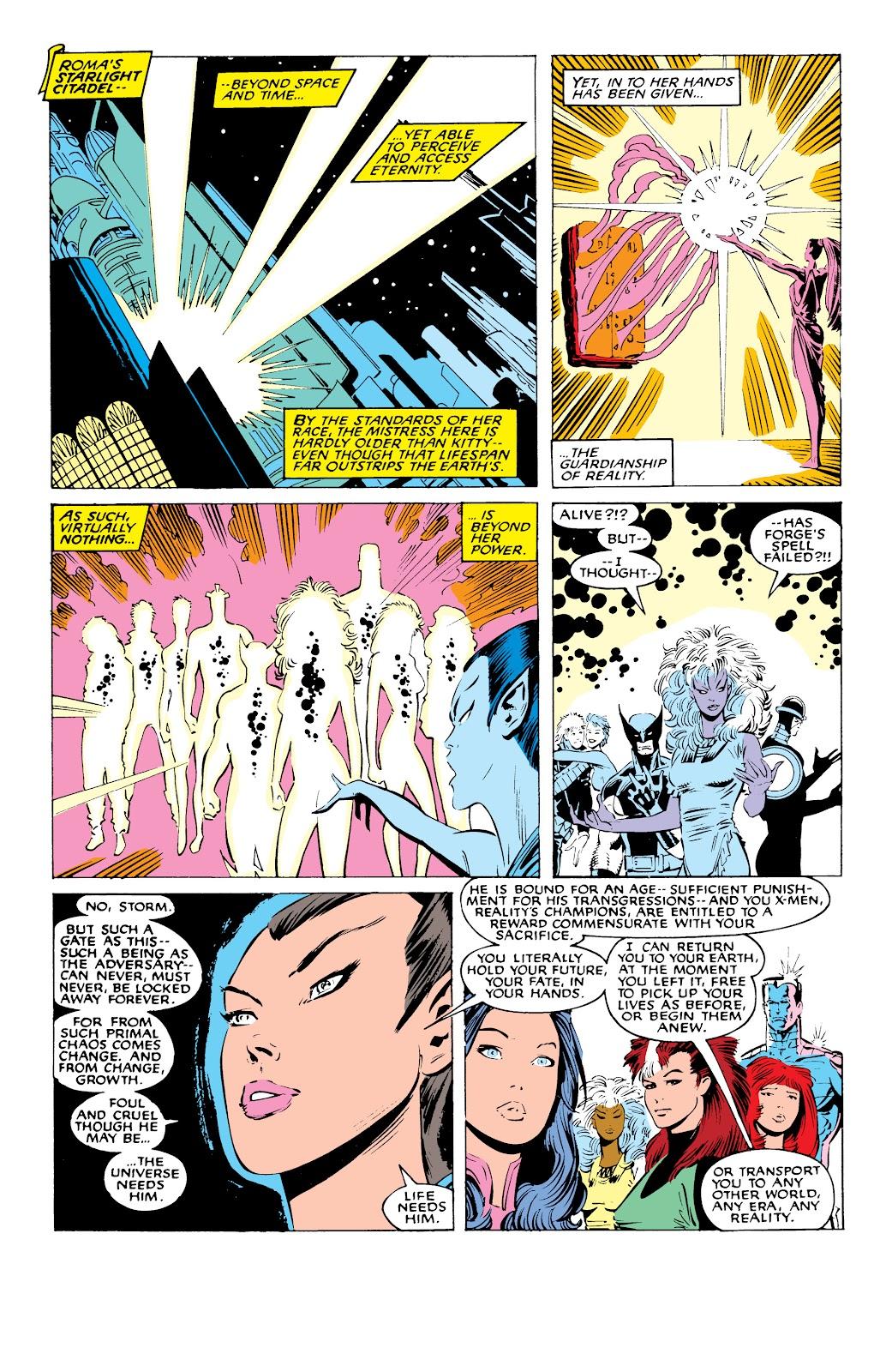 Read online X-Men Milestones: Fall of the Mutants comic -  Issue # TPB (Part 1) - 89