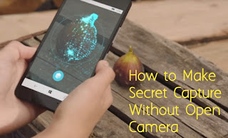 How to make Secret video without Opening Phone Camera