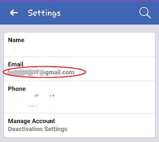 cara mengetahui email facebook, cara melihat email di facebook, cara melihat email fb, mengetahui email facebook