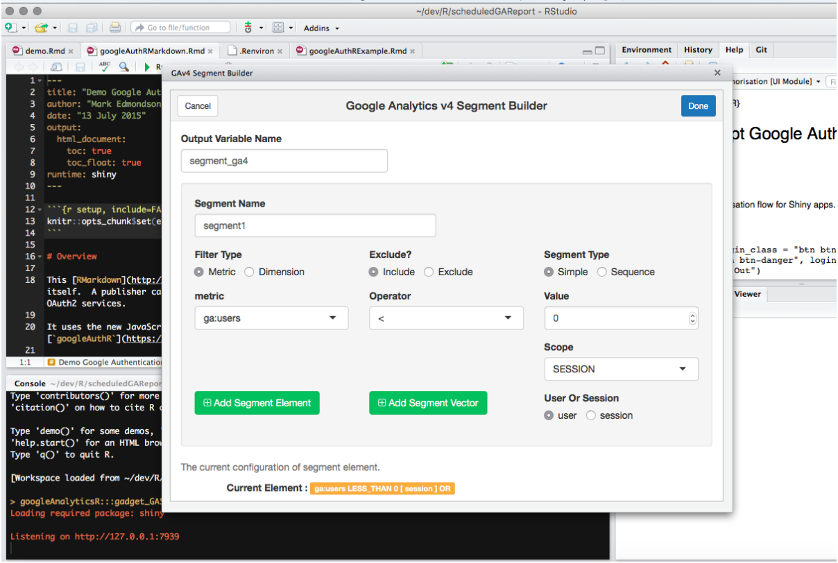 Google Analytics Solutions: googleAnalyticsR: A new R package for